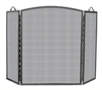 UniFlame S-1166 3 Panel Olde World Iron Arch Top Screen - Medium
