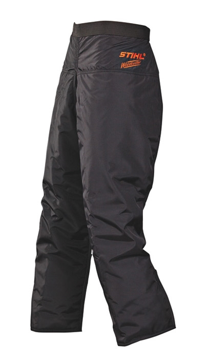 Woodcutter 6 Layer Apron Chaps Black