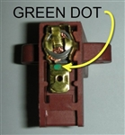 4580418 BRUSH (1EA), FOR 120V AMETEK (GREEN DOT)