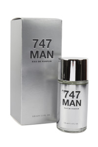 S9-15-3-0272Q-3.4OZ / 100ML 747 MAN FOR MEN/3PCS