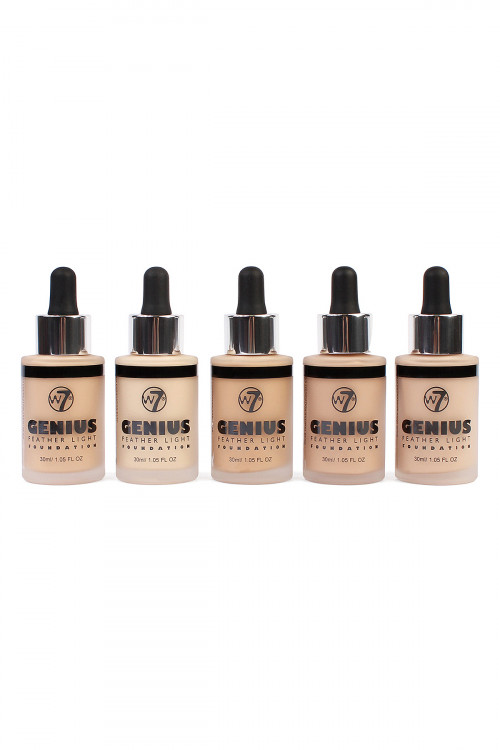 S1-7-3-A141757PPK GENIUS FOUNDATION (3 EACH OF BUFF,EARLY TAN, FRESH BEIGE, NATURAL BEIGE, SAND BEIGE)/15PCS