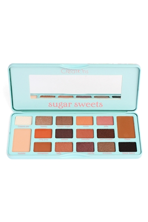 SA3-2-4-A16ETS-B BLUE SUGAR SWEETS EYESHADOW PALETTE/12PCS