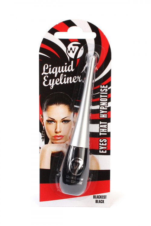 SA3-3-3-A399155 LIQUID EYELINER 8ml/0.268oz EYES THAT HYPNOTIZE-BLACKEST BLACK/6PCS