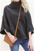 S24-4-2-7013CM -FAUX CROSSBODY WRISTLET BAG - CAMEL/3PCS