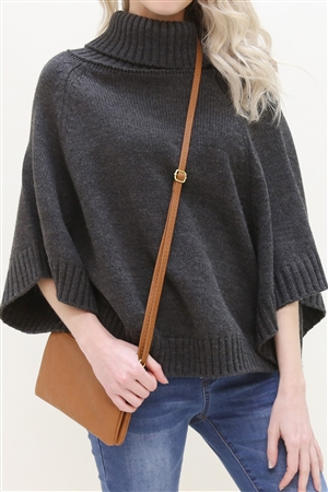 S24-4-2/S24-3-2/S24-4-3/S1 - P14-7013CM -FAUX CROSSBODY WRISTLET BAG - TAN/3PCS
