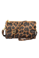 S24-4-2-7013LPD-COFFEE-FAUX CROSSBODY WRISTLET BAG - LEOPARD-COFFEE/3PCS