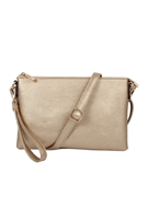 S20-8-5-8623RSGD- CROSSBODY WRISTLET BAG - N SILVER/3PCS