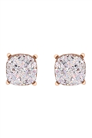 S22-2-4-AE0333AB-GLITTER EPOXY STUD EARRINGS-AB/6PCS