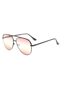 S17-4-5-AV-1608-TOC - AVIATOR SUNGLASSES/12PCS