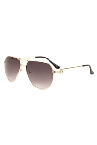 S17-5-5-AV-1656 - AVIATOR SUNGLASSES/12PCS
