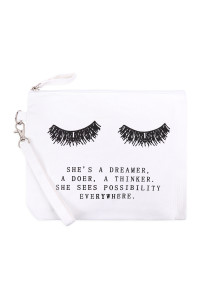 S20-11-1-BG452X004 - SHE'S A DREAMER COSMETIC POUCH/6PCS