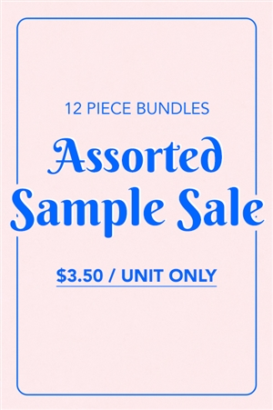 S11-4-1-ASSORTED FINAL SAMPLE SALE