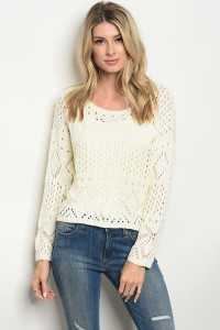 S13-10-5-SYN1143 IVORY SWEATER 2-3-1
