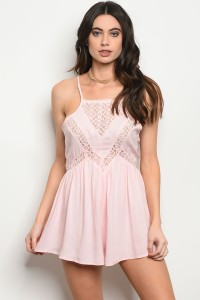 S19-1-1-R5048 LIGHT PINK ROMPER 2-2-2
