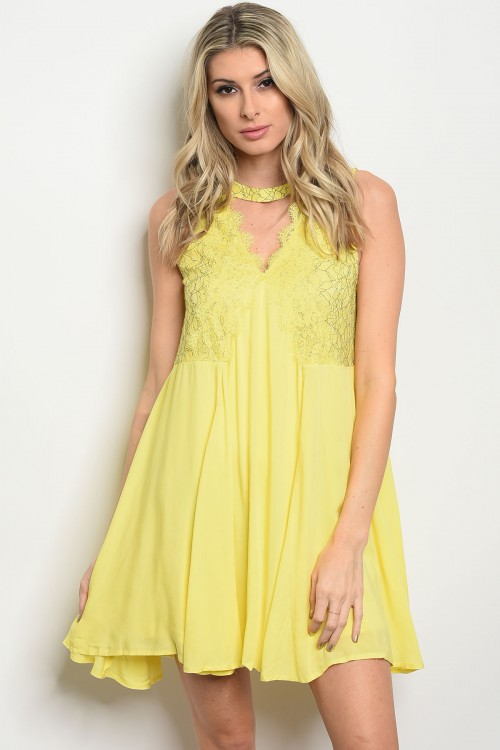 S8-5-3-D41265 YELLOW DRESS 2-2-2