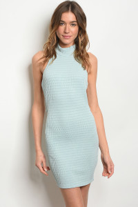 C67-A-4-D2501 LIGHT MINT DRESS 3-2-1