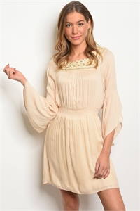 S11-5-5-D50183 TAUPE DRESS 2-2-2