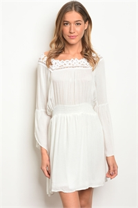 S9-20-2-D50183 OFF WHITE DRESS 2-2-2
