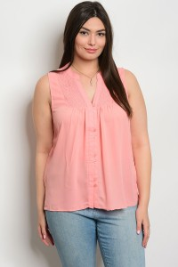 S10-19-4-TZB7971X BLUSH PLUS SIZE TOP 2-2-2