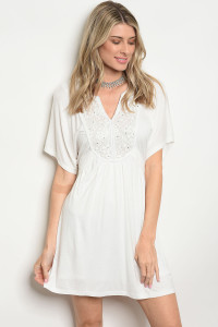 S13-8-1-D41155 OFF WHITE DRESS 2-2-2