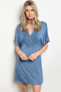 S10-7-5-D41155 INDIGO BEADED DRESS 2-2-2