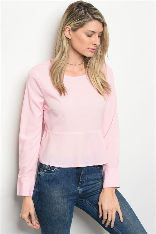 105-2-4-T8738 PINK TOP 2-2-2
