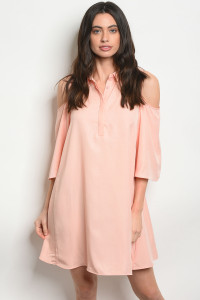S22-7-1-DY13398 PEACH DRESS 3-2-1