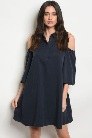 S20-7-2-DY13398 NAVY DRESS 3-2