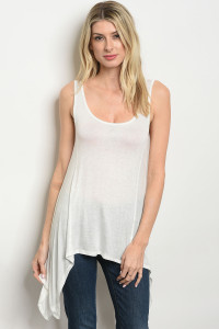 C42-A-3-T124065 IVORY TUNIC TANK TOP 2-2-2