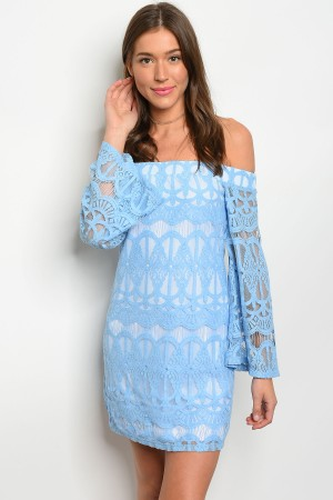S11-10-3-DTS8327 BLUE WHITE DRESS 2-2-2