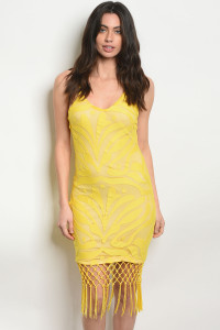 S16-9-5-D8436 YELLOW NUDE DRESS 2-2-2