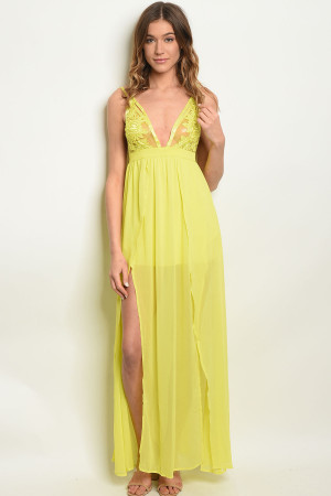 S17-11-1-DMA8090 LIME DRESS 3-2-1