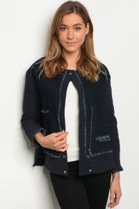 105-1-1-J1195 BLUE DENIM JACKET 2-2
