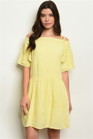 S16-1-4-D60329 YELLOW DRESS 2-2-2