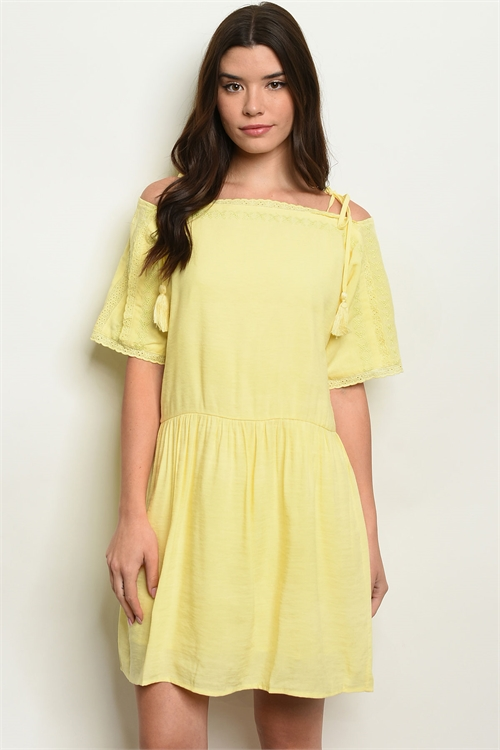 105-1-1-D60329 YELLOW DRESS 2-2-2