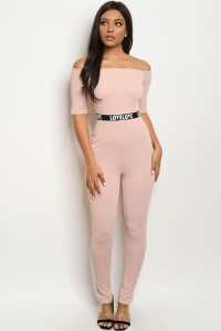S17-1-2-J1456010 BLUSH OFF SHOULDER JUMPSUIT 2-2-2
