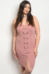 C75-A-4-D6813X MAUVE PLUS SIZE TOP 2-2-2