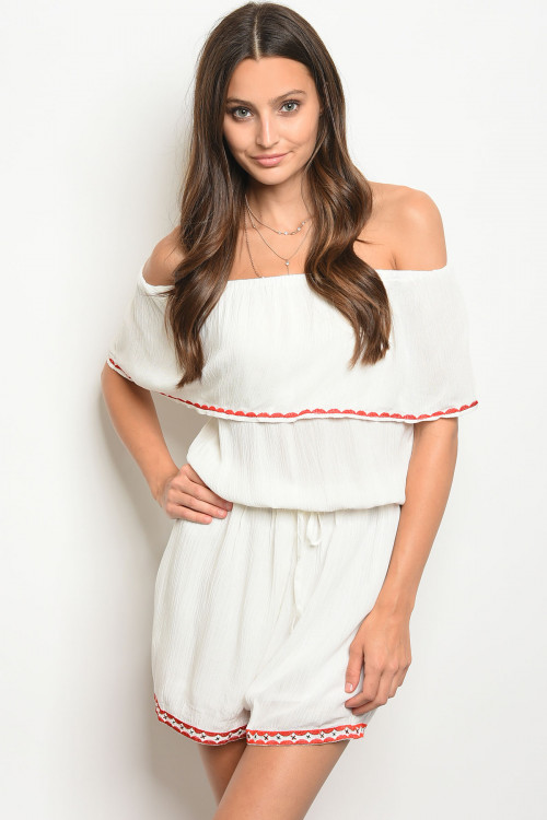 109-6-4-RPB037 IVORY OFF SHOULDER ROMPER 2-2-2