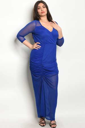S8-3-5-D3292X ROYAL PLUS SIZE DRESS 2-2-2
