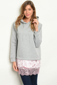 S6-3-3-S23463 GRAY PINK SWEATER 2-2-2
