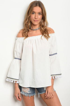 S8-5-5-T10350 OFF WHITE TOP 2-2-2