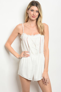 240-2-2-NA-R62117 OFF WHITE ROMPER 2-2-2