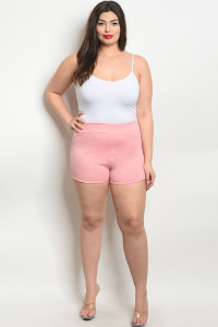 C10-B-6-S7895X BLUSH PLUS SIZE SHORT 2-2-2