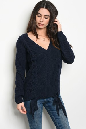 S14-12-5-S0053 NAVY SWEATER 3-2-1
