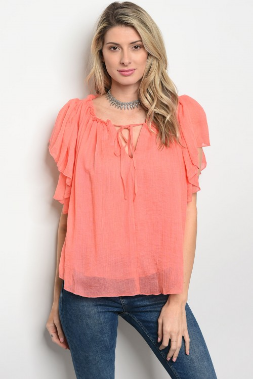 115-2-2-T22769 CORAL TOP 2-2-2