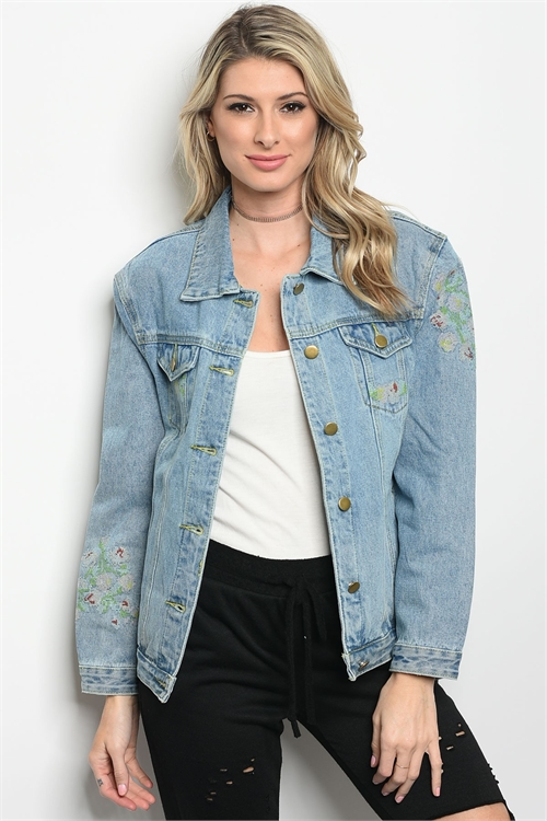 111-3-3-J117 DENIM BLUE JACKET 2-2-1