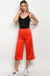 S19-7-2-P1871 RED TRACK PANTS 4-2