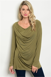127-3-2-T22957 OLIVE TOP 2-1-1