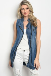 S8-2-3-D6361 DARK BLUE WASH VEST 3-2