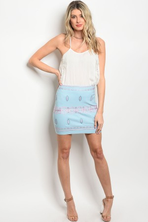 S10-11-2-S102 BLUE PINK SKIRT 2-2-2
